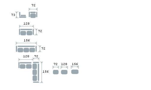 5. Мебельные опоры: металлические с... 3. Каркас: древесина хвойных пород, березовая фанера