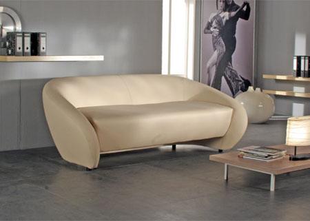 Все модули диванов Мурано поражают своей нестандартностью.