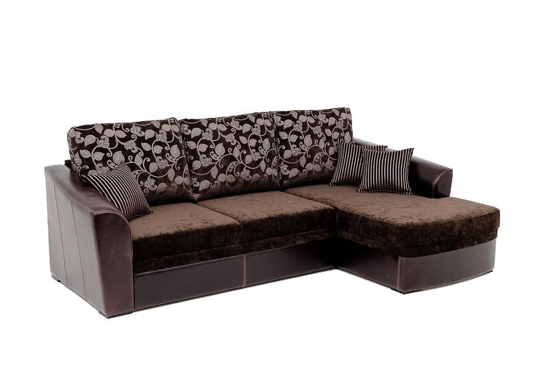 Диван Рудольф оригинальной формы с продуманным комфортом. . Он способен стать украшением любого кабинета